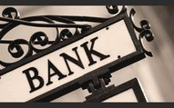 bank sign on the street picture