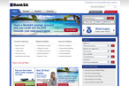 South Australia Regional Bank website