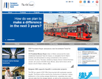 European Investment Bank website picture