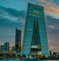 Central Bank of Kuwait headquarters in Kuwait City