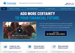 Prudential Annuities website